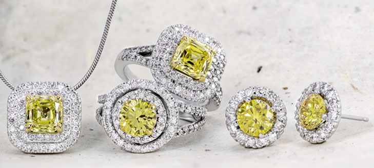 Canary yellow diamonds you can also shop our entire selection of loose diamonds for custom designed jewelry in 14kt 18kt gold as well as platinum aloadofball Images