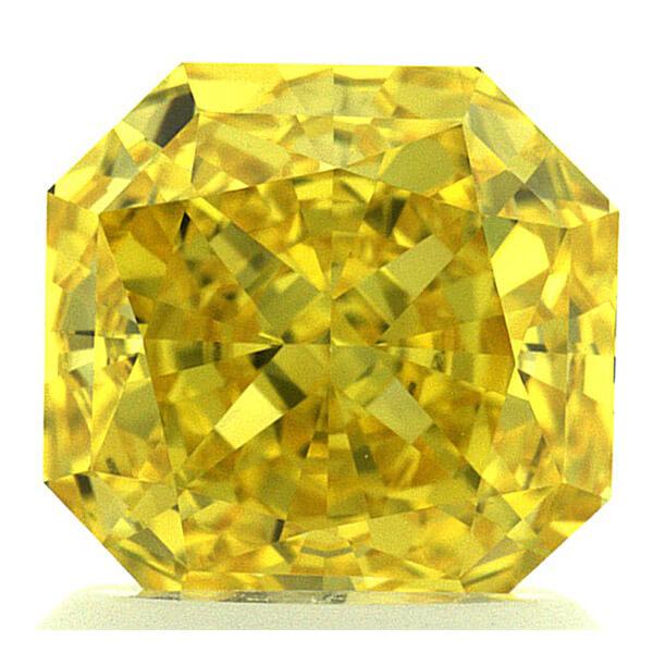 Lab Created Canary Diamond Rings