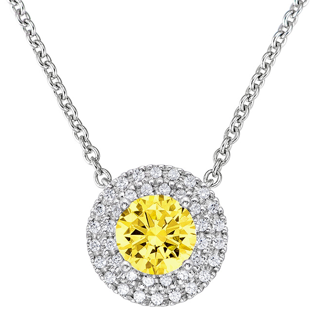 Canary Necklace Pendant