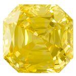 Canary Yellow Renaissance  Cut Renaissance Created Diamond 1.68 Ct.