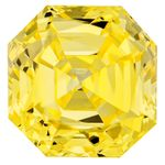 Canary Yellow Renaissance  Cut Renaissance Created Diamond 1.61 Ct.