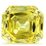 Canary Yellow Radiant Cut Renaissance Created Diamond 1.28 Ct.