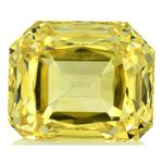 Yellow Renaissance Cut Created Diamond 1.60 Ct.
