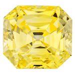 Canary Yellow Renaissance  Cut Renaissance Created Diamond 1.5 Ct.