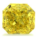 Canary Yellow Radiant Cut Renaissance Created Diamond 1.71 Ct.