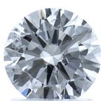 Colorless Round Created Diamond 1.50 Ct.