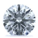 Colorless Round Created Diamond 1.73 Ct.