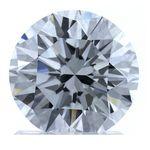Colorless Round Created Diamond 1.63 Ct.