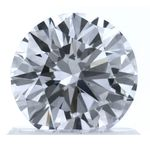 Colorless Round Created Diamond 0.91 Ct.