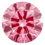 1.03 Ct Vivid Bubble Gum Pink Created Diamond