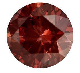 Red Round Created Diamond 0.61 Ct.