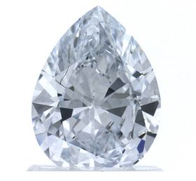 Colorless Pear Shape Created Diamond 1.03 Ct.