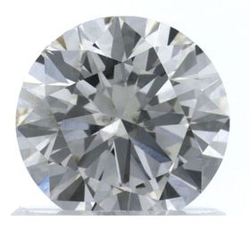 Colorless Round Created Diamond 0.62 Ct.