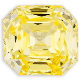 Canary Yellow Color Lab Grown Diamond