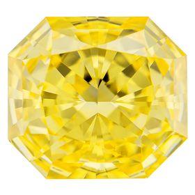 Canary Yellow Radiant Cut Renaissance Created Diamond 1.11 Ct.