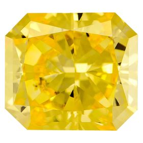 Canary Yellow Radiant Cut Renaissance Created Diamond 1.91 Ct.