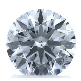Colorless Round Created Diamond 1.73 Ct.